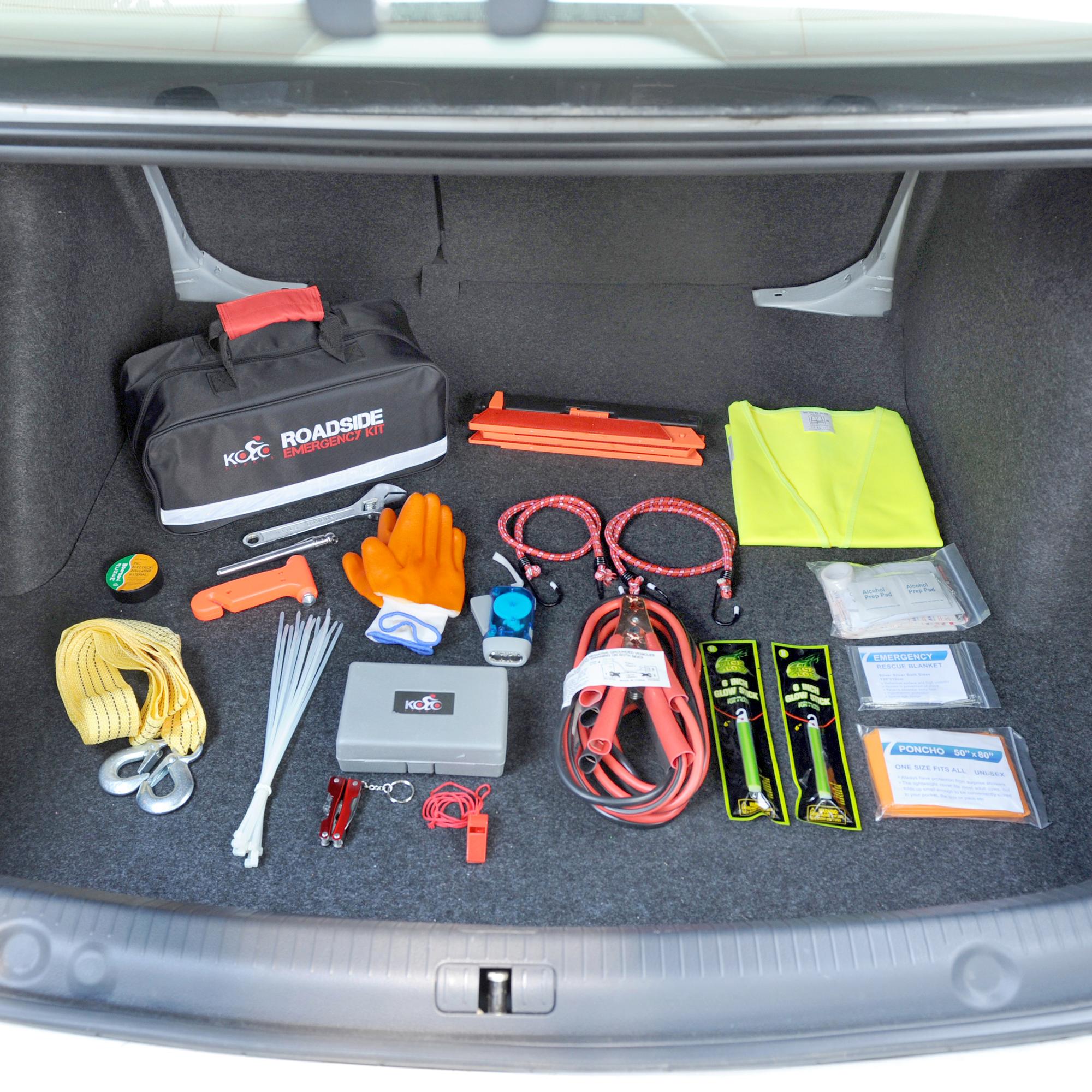 Premium Auto Emergency Kit By Kolosports